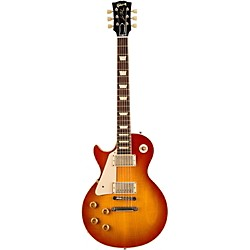Gibson Custom 1958 Les Paul Plaintop VOS Left-Handed Electric Guitar (LPR84LHVOWCNH1)