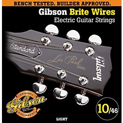 Gibson G700L Brite Wires Electric Guitar Strings - Light (SEG-700L)