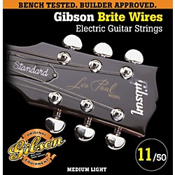 Gibson G700ML Medium Light Brite Wires Electric Guitar Strings (SEG-700ML)
