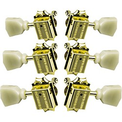 Gibson Vintage Gold Machine Heads with Pearloid Buttons (PMMH-020)