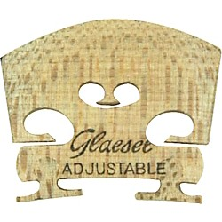 Glaesel Self-Adjusting 1/4 Violin Bridge (GL3352S)