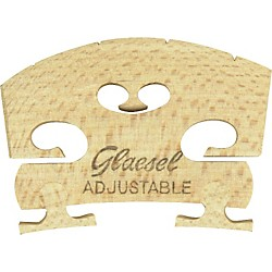 Glaesel Self-Adjusting 4/4 Violin Bridge (GL33524M)