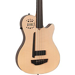 Godin A4 Ultra Natural Fretless SA Acoustic-Electric Bass Guitar (USED004645 33645)