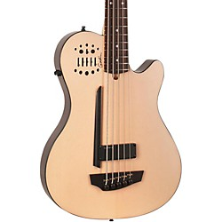 Godin A5 Ultra Natural SA 5-String Acoustic-Electric Bass Guitar (USED004422 33621)