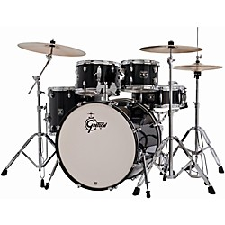 Gretsch Drums Energy 5-Piece Drum Set with Hardware and Sabian SBR Cymbal Pack (GEX-E825PK-BK)