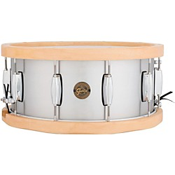 Gretsch Drums Gold Series Aluminum/Maple Snare Drum (S1-6514A-WH)