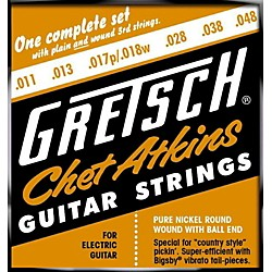 Gretsch Guitars Chet Atkins Pure Nickel 11-48 Electric Guitar Strings (9220150008)