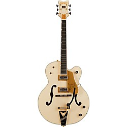Gretsch Guitars G6136T-LTV White Falcon Lacquer Finish TV Jones Pickups (240 1413 805)