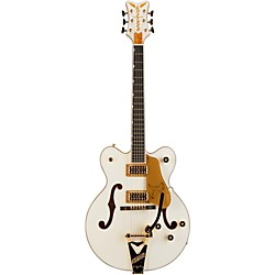 Gretsch Guitars G6139T-CBDC White Falcon Center Block Double Cutaway with Bigsby Tremolo (USED004000 2400800805)