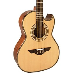 H. Jimenez LBQ1 El Estandar (The Standard) Full Body Bajo Quinto Acoustic Guitar (LBQ1)
