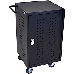 H. Wilson 30 Tablet Charging Cart with RFID (LLTM30-B-RFID)