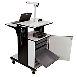 H. Wilson Heavy-Duty Presentation Station with Storage Trays (WPS6HDCCE)