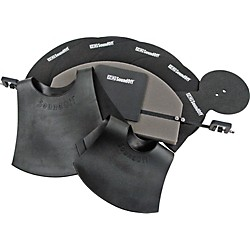 HQ Percussion SoundOff Drum and Cymbal Mute Set (SOSETSTD)