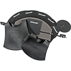 HQ Percussion SoundOff Fusion Drum and Cymbal Mute Set (SOSETFSN)