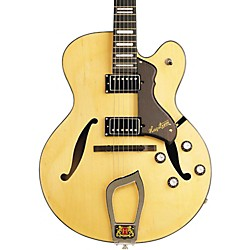 Hagstrom Jazz Model HJ-500 Semi-Hollow Electric Guitar (USED004000 AMS-HJ500-NAT)