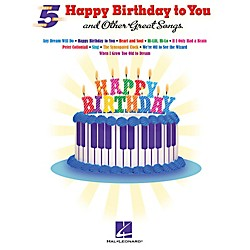 "Hal Leonard ""Happy Birthday To You"" And Other Great Songs For 5-Finger Piano (102097)"