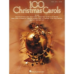 Hal Leonard 100 Christmas Carols Piano, Vocal, Guitar Songbook (310897)