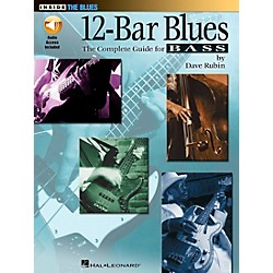 Hal Leonard 12-Bar Blues Bass Book/CD (696481)