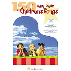 Hal Leonard 150 Easy Piano Children's Songs (310708)
