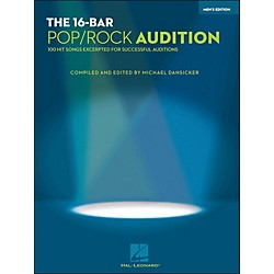 Hal Leonard 16 Bar Pop/Rock Audition Men's Edition (1217)