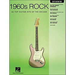 Hal Leonard 1960s Rock Easy Guitar Tab (702271)