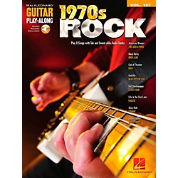 Hal Leonard 1970s Rock - Guitar Play-Along Volume 127 (Book/CD) (701739)