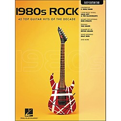 Hal Leonard 1980s Rock Easy Guitar Tab (702269)