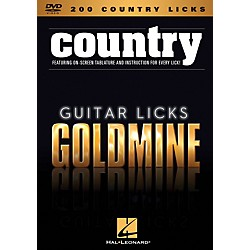 Hal Leonard 200 Country Licks - Guitar Licks Goldmine DVD series (320932)