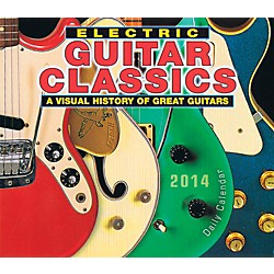 Hal Leonard 2014 Electric Guitar Classics Daily Boxed Calendar (121647)