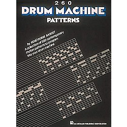 Hal Leonard 260 Drum Machine Patterns (657371)
