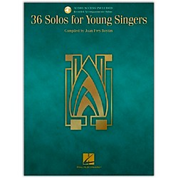 Hal Leonard 36 Solos For Young Singers Book/CD (740143)