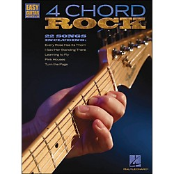 Hal Leonard 4 Chord Rock - Easy Guitar With Tab (702281)