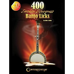 Hal Leonard 400 Smokin' Bluegrass Banjo Licks Book/CD (123175)