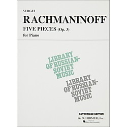 Hal Leonard 5 Pieces Op 3 For Piano Rachmaninoff By Rachmaninoff (50333490)