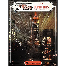 Hal Leonard 57 Super Hits E-Z Play 119 (101990)