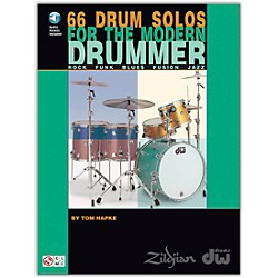 Hal Leonard 66 Drum Solos for the Modern Drummer Book/CD (2500319)
