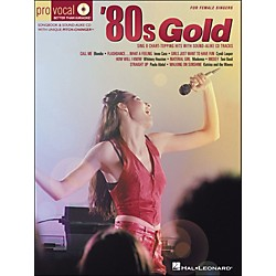 Hal Leonard 80s Gold - Pro Vocal Series For Female Singers Book/CD Volume 4 (740277)