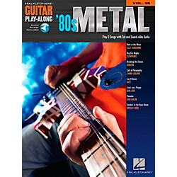 Hal Leonard 80s Metal Guitar Play-Along Series Volume 39 Book with CD (699664)