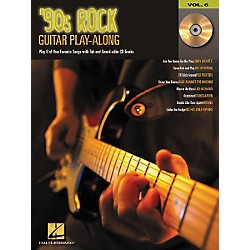 Hal Leonard 90s Rock Guitar Play-Along Series Book with CD (699572)