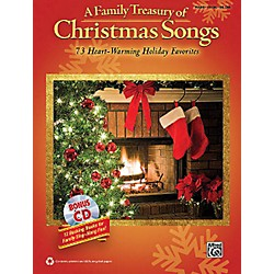 Hal Leonard A Family Treasury Of Christmas Songs Piano/Vocal/Guitar With Bonus CD (322329)