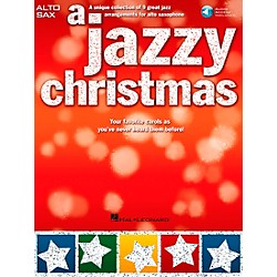Hal Leonard A Jazzy Christmas - Alto Sax Play-Along Book/CD (14037681)