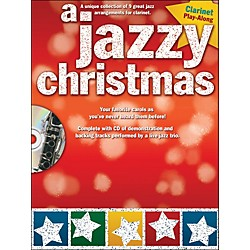 Hal Leonard A Jazzy Christmas - Clarinet Play-Along Book/CD (14037680)