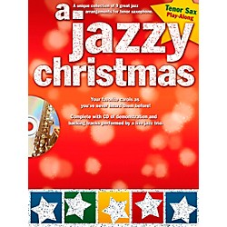 Hal Leonard A Jazzy Christmas - Tenor Sax Play-Along Book/CD (14037682)