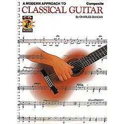 Hal Leonard A Modern Approach to Classical Guitar (Book and CD Package) (695119)