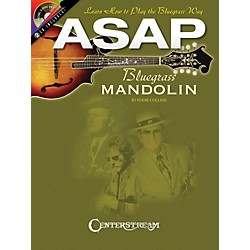 Hal Leonard ASAP Bluegrass Mandolin (Book/2 CD Pack) (1219)