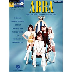 Hal Leonard Abba - Pro Vocal Songbook Female Singer's Edition Volume 25 (740367)