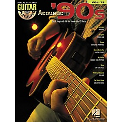 Hal Leonard Acoustic '90s Guitar Play-Along Volume 72 Book/CD (699827)