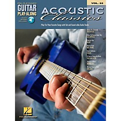 Hal Leonard Acoustic Classics Guitar Play-Along Series Volume 33 Book with CD (699656)