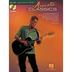 Hal Leonard Acoustic Classics Guitar Signature Licks Book & CD (695864)