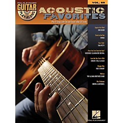 Hal Leonard Acoustic Favorites - Guitar Play-Along Series Volume 69 Book and CD (699810)